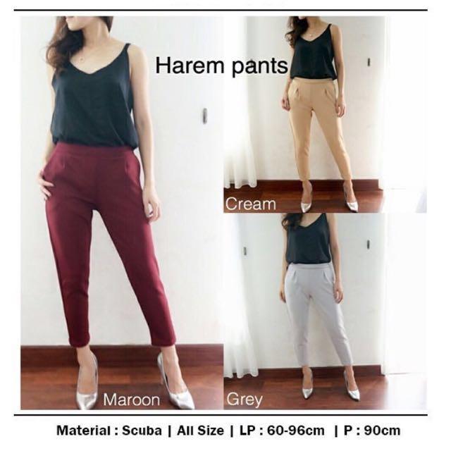 Harem Pants Scuba