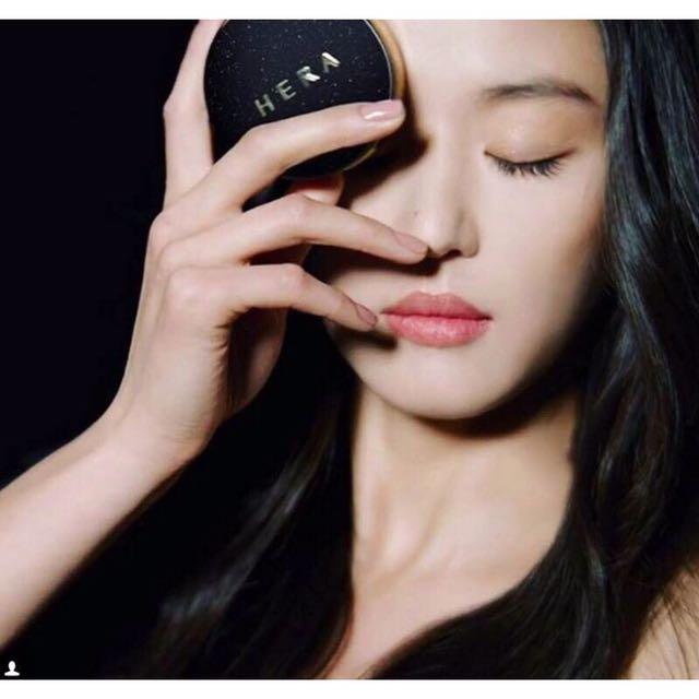 韓國赫拉HERA新品BLACK CUSHION「黑金」持久型氣墊套組 SPF34 / PA++