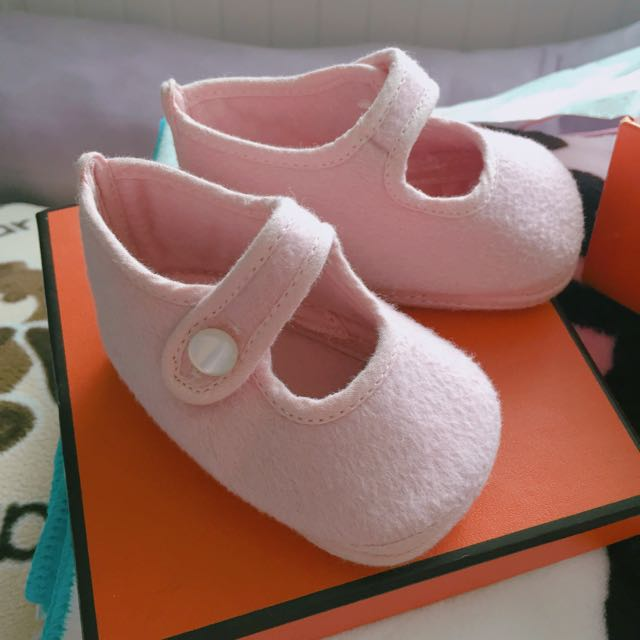 Hermes 寶寶鞋-10cm