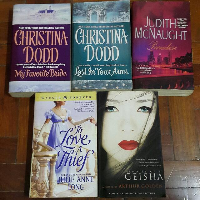 Historical/Contemporary Romance Novels