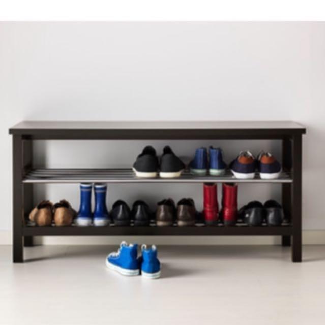 👞👠IKEA Shoe Rack TJUSIG Bench