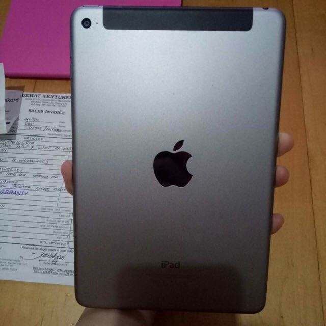 Ipad mini 4 air with cellular 32gb space gray