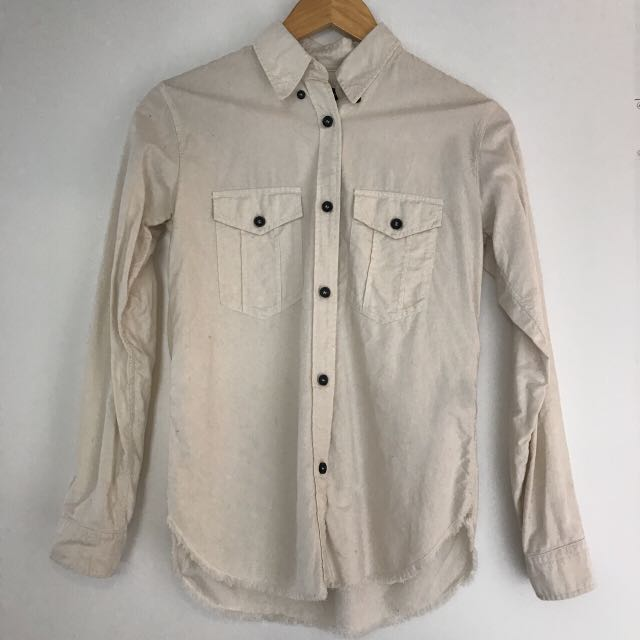 Isabel Marant Étoile Ivory Bastien Shirt