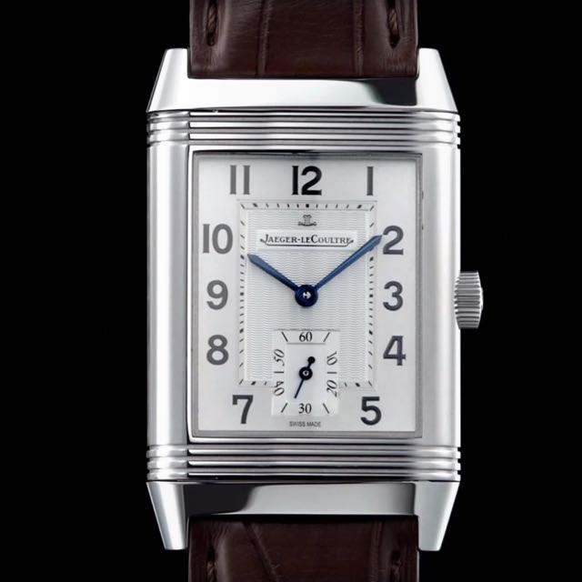 men s jaeger watches watch lecoultre tribute reverso duoface