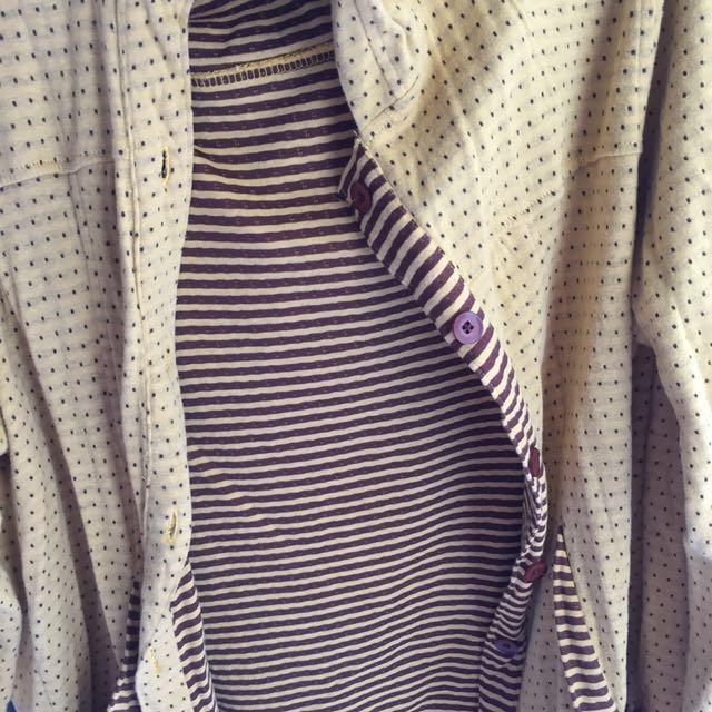 Jaket / sweater / baju hangat duo flip