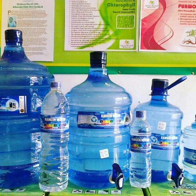 Jual Air Minum Kangen Water