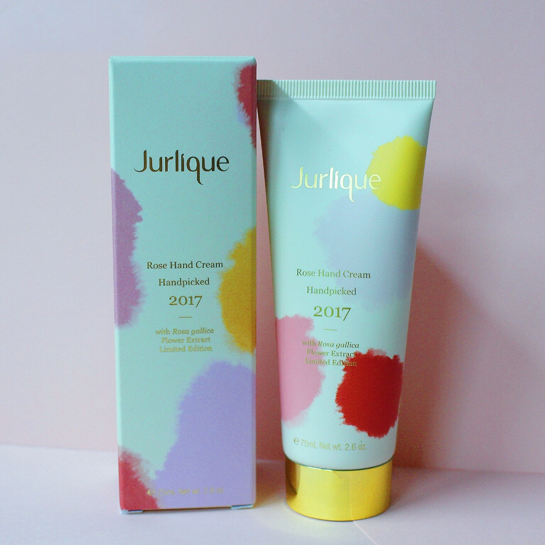JURLIQUE Limited Edition Hand Picked Rose Hand Cream 2017