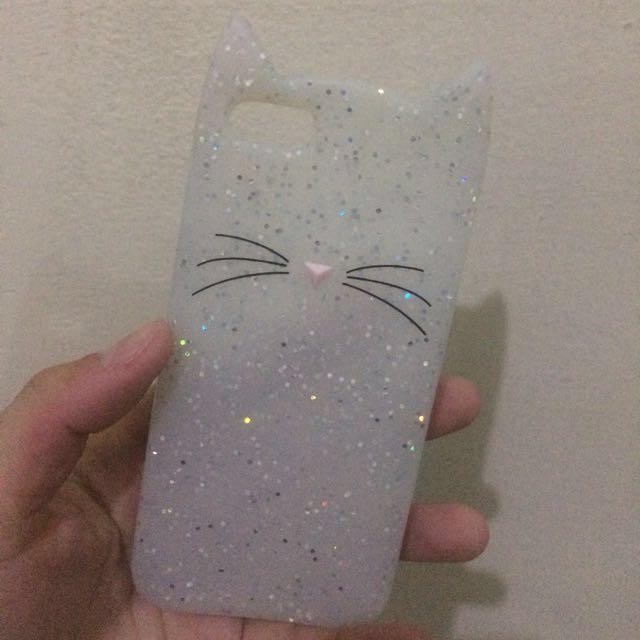 Kate Spade Glitter Cat Case Iphone 5/5s/SE