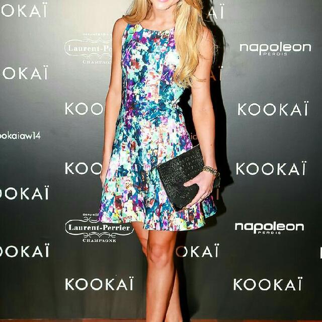 Kookai Meander Dress - Size 34 **As NEW**
