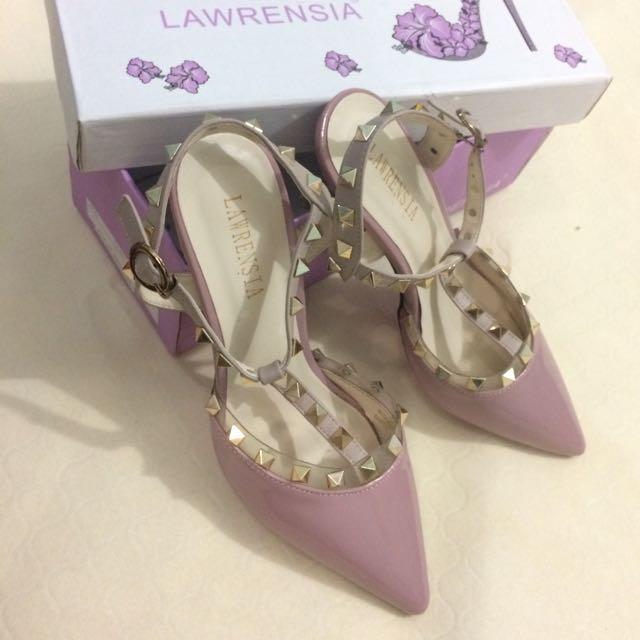 lawrensia highheels pink glossy size 38