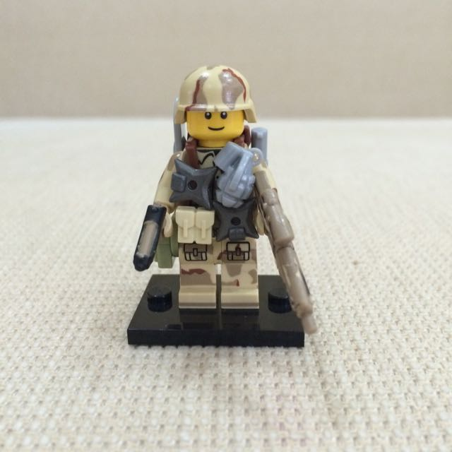 Lego Custom US Army, Toys & Games on Carousell