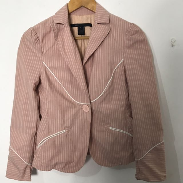 Marc Jacobs Pink Blazer