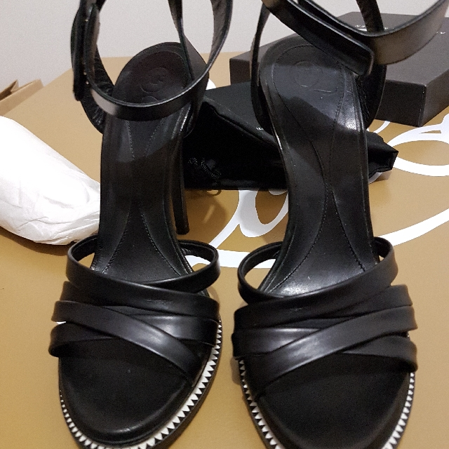 Mcq By Alexander McQueen 38 Criss Cross Sandals Authentic