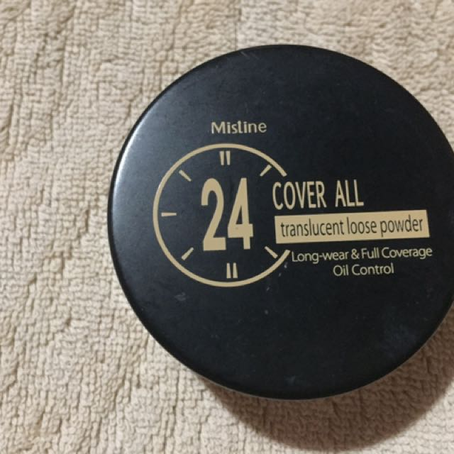 Mistine Cover All Translucent Loose Powder from Thailand