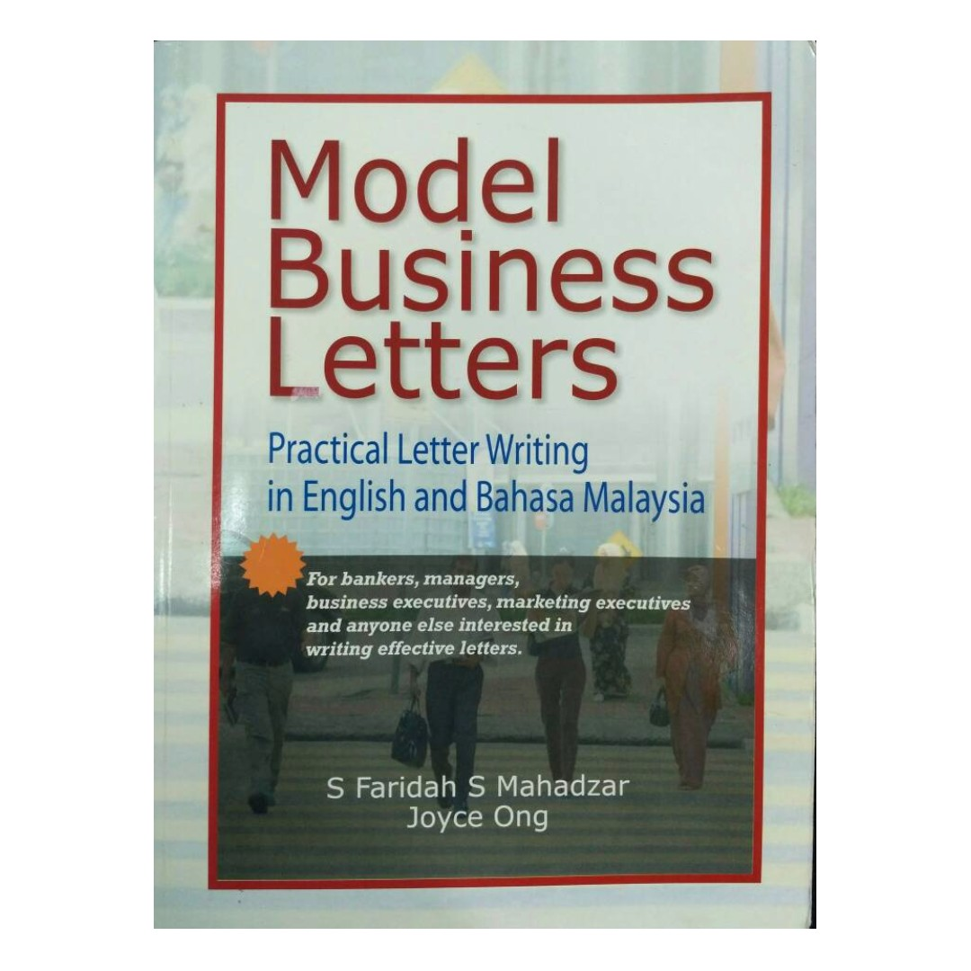 Model Business Letters Practical Letter Writing In English And