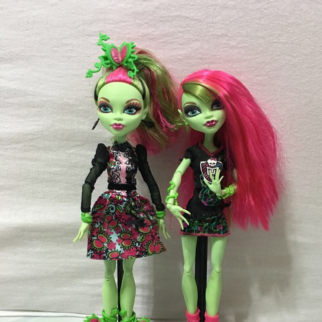 e49afbe5bab Monster High Venus Mcflytrap Set Doll, Toys & Games, Bricks & Figurines on  Carousell