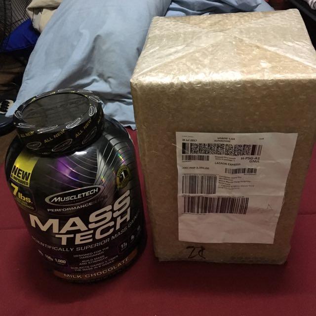 Muscletech Mass Tech Protein Powder
