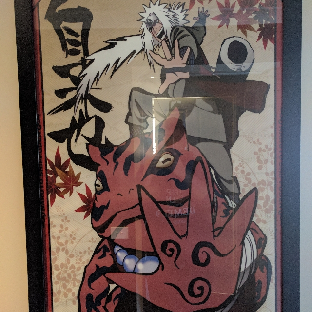Naruto + Pokemon Limited Edition Framed poster