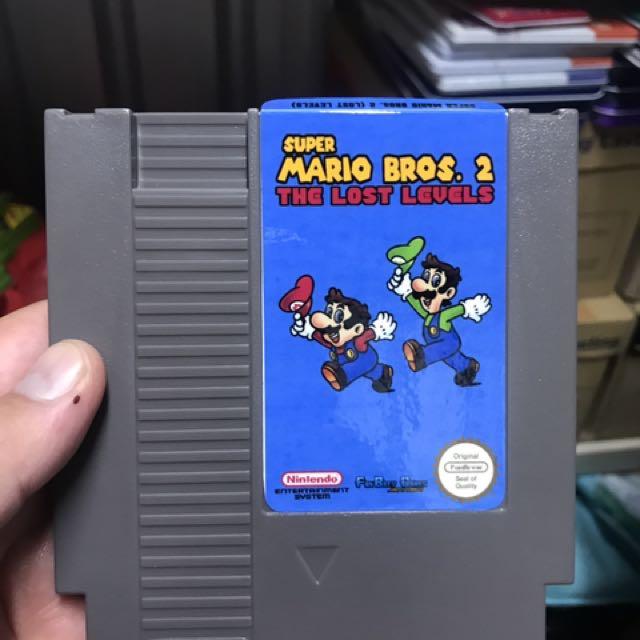 Nes Super Mario Bro 2 Lost Levels Fan Game