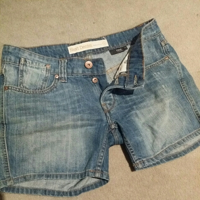Next Denim Shorts