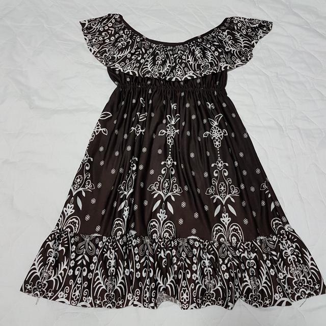 Off Shoulder Frilly Dress