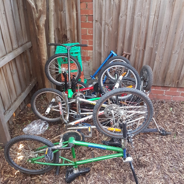 Old school / New school BMX bikes and Parts
