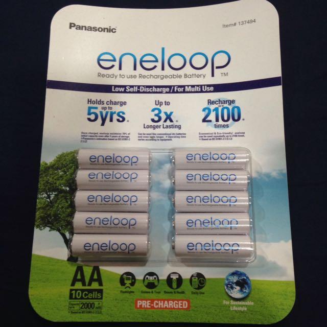 Panasonic eneloop 充電電池