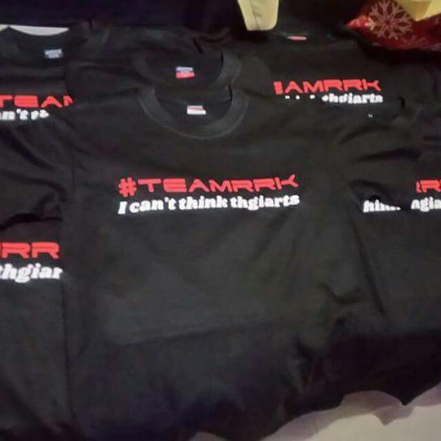 Personalized Group/Team Shirt
