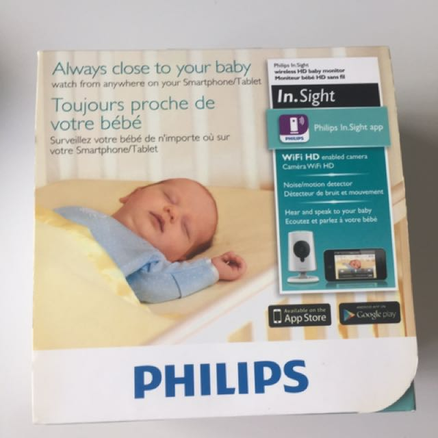 Philip in sight wireless HD baby monitor, Babies & Kids on