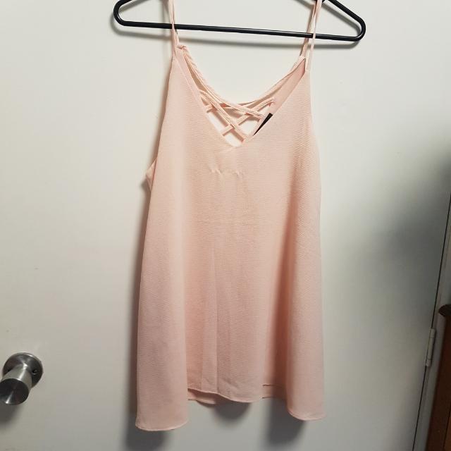 Pink Caroline Morgan Shirt Size 8