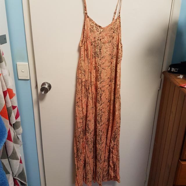 Pink Maxi Dress Size S/M