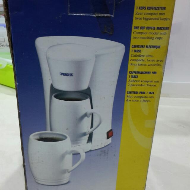 Princess One Cup Coffee Maker Everything Else On Carousell