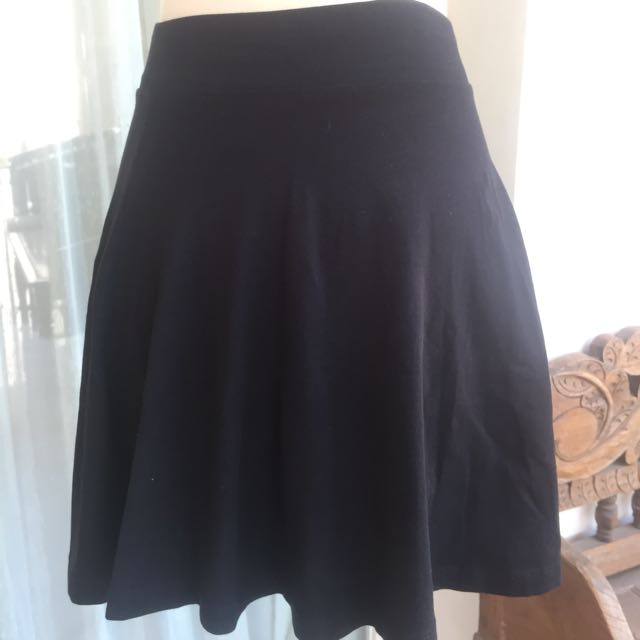 Pull And Bear Black Skirt