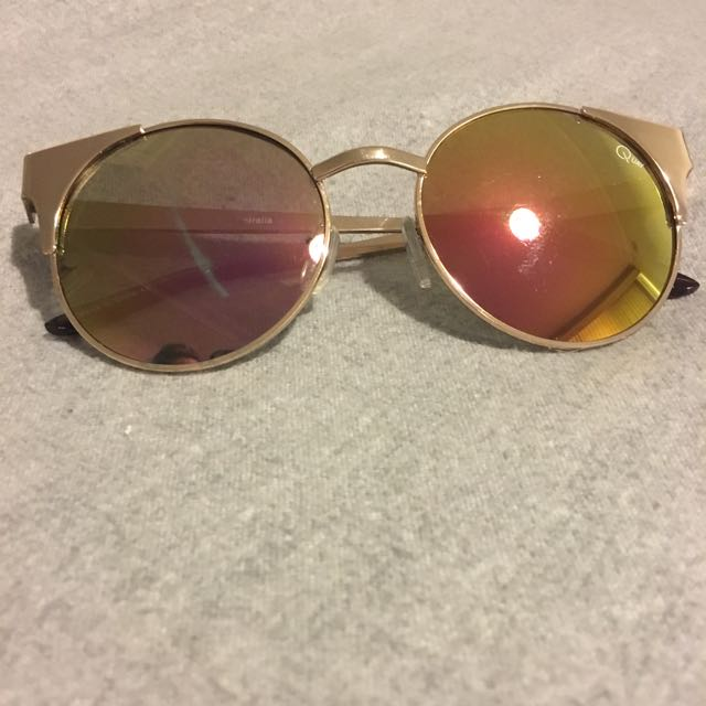 Quay Reflective Sunglasses