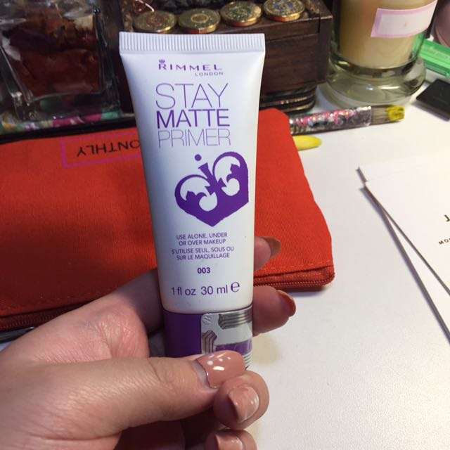 RIMMEL STAY MATTE PRIMER NEW
