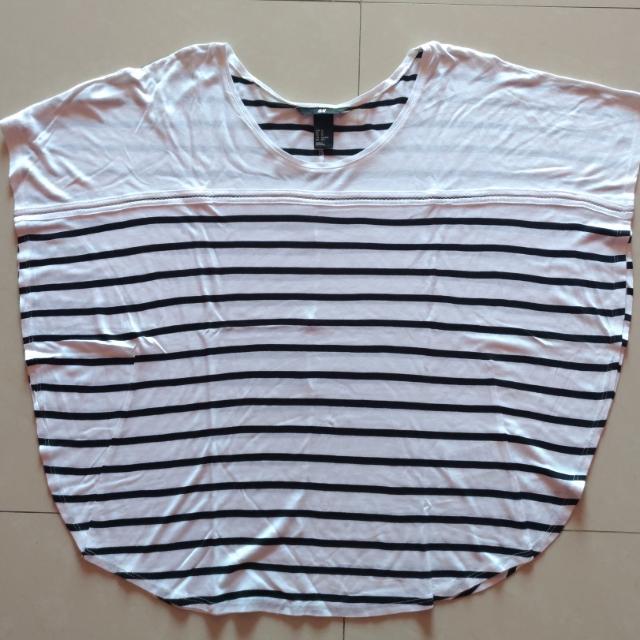 SALE ‼️ H&M Batwing Stripe