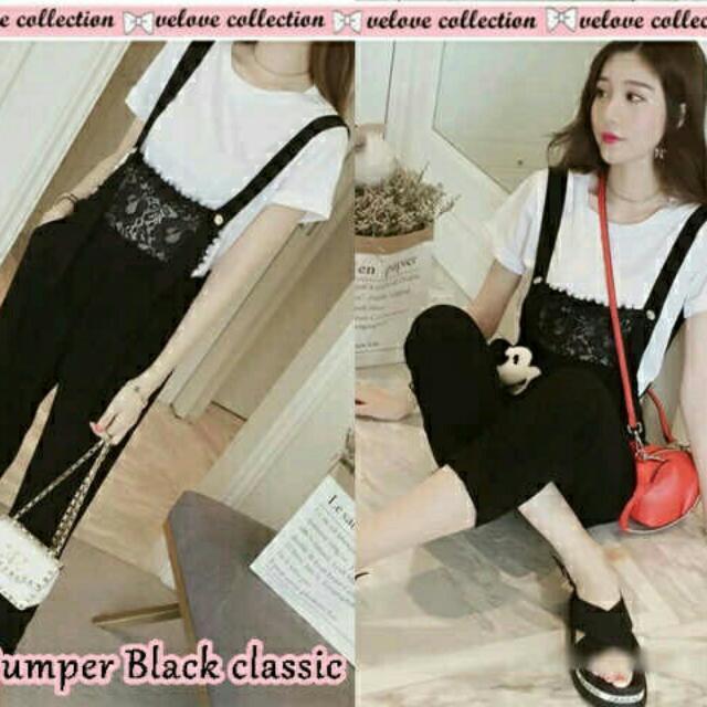 Set Jumper Black Classic