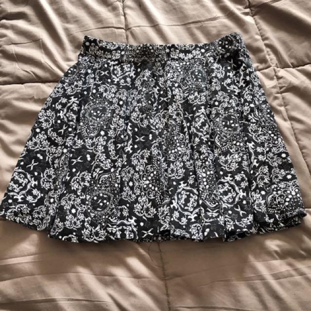 Short cute skirt
