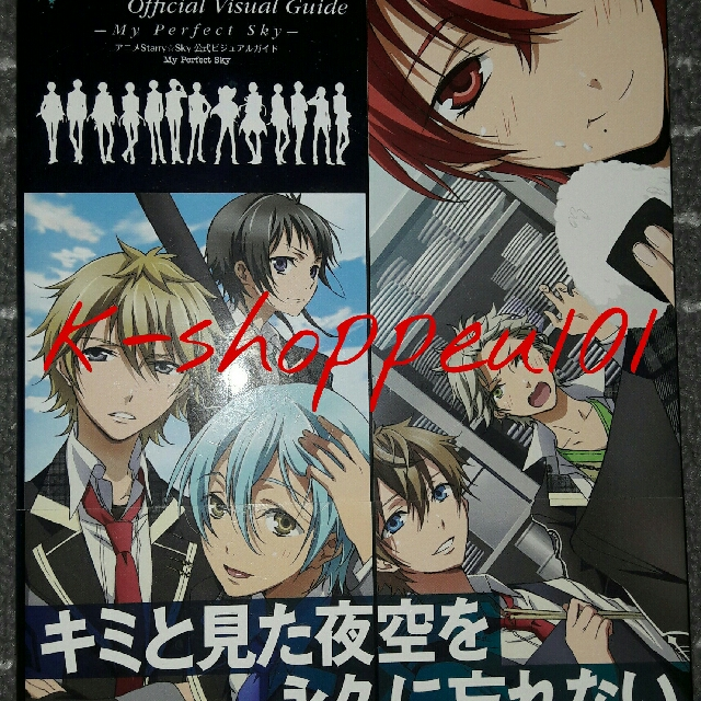 Starry Sky Official Visual Guide My Perfect Sky