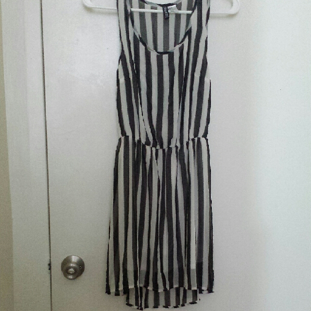 H&M-Striped Dress