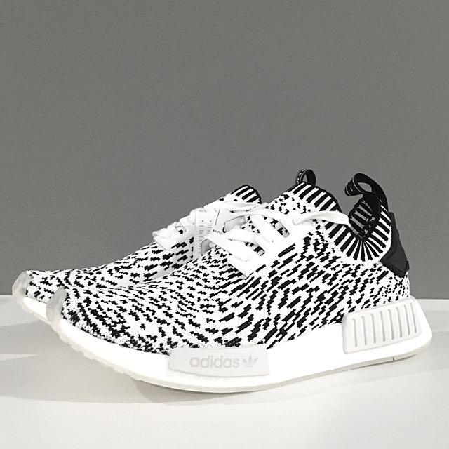 wholesale dealer df0fa d0783 [UK8] Adidas NMD R1 PK Sashiko