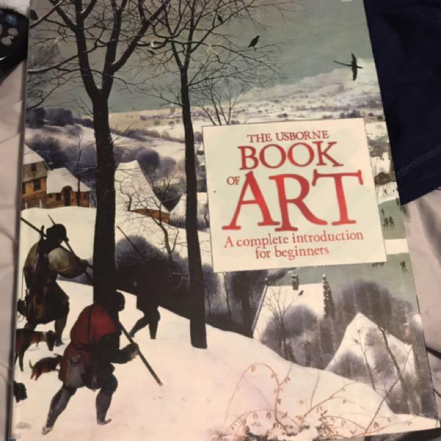 Usborne Book Of Art For Beginners