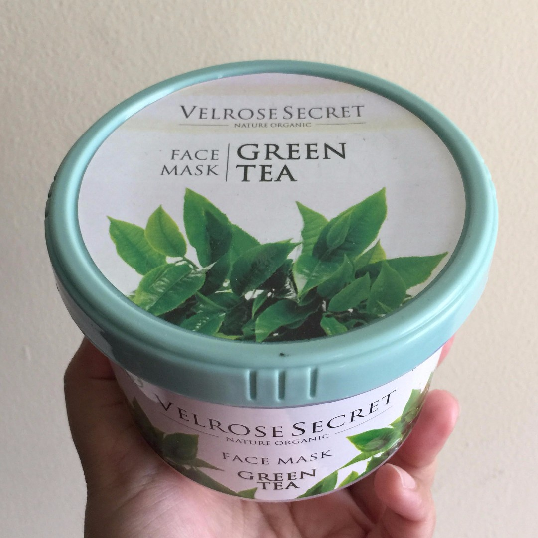 Velrose Secret Nature Organic Face Mask Green Tea