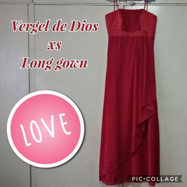 Vergel De Dios Long Gown