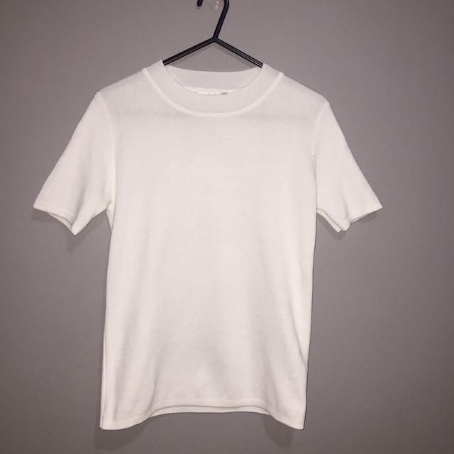 White Paper Scissors Shirt