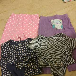 Carter's 18 Months Bodysuits And Pants