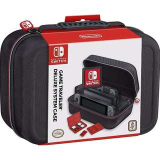 Nintendo Switch Game Traveler Deluxe System Case  (Officially Licensed Product)