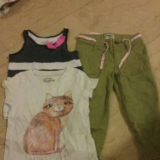 Oshkosh Size 3T Toddler's Girls Clothes