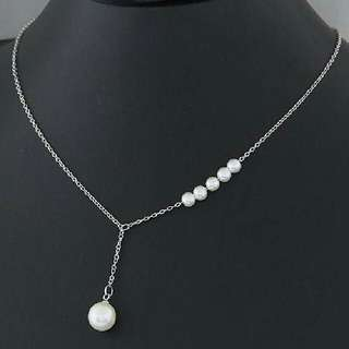 Kalung Simple Pearl