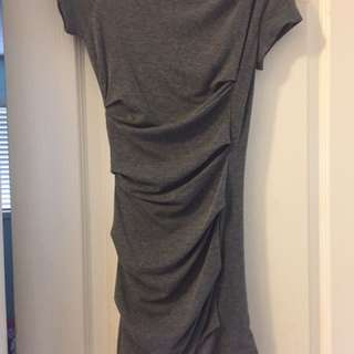 Fitted Grey Dress